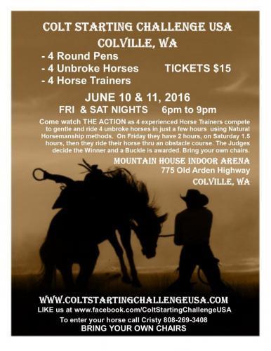 Colville Colt Starting flyer