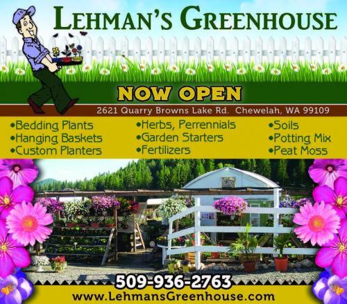 Lehman's Greenhouse ad 2016