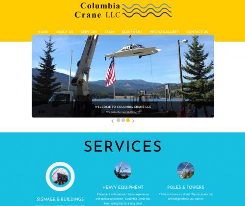 columbia crane llc